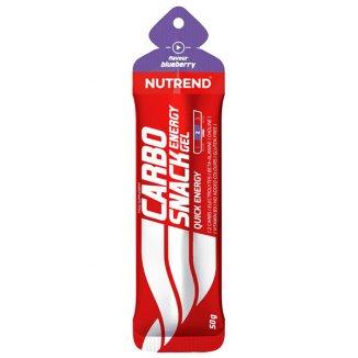 Nutrend, Carbosnack, żel energetyczny, jagoda, saszetka 50 g - zdjęcie produktu