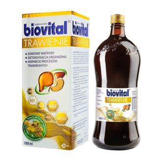 Biovital Trawienie, płyn, 1000 ml - zdjęcie produktu