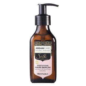 Arganicare Silk, serum z jedwabiem rozpłątujące i wzmacniające włosy, 100 ml - zdjęcie produktu