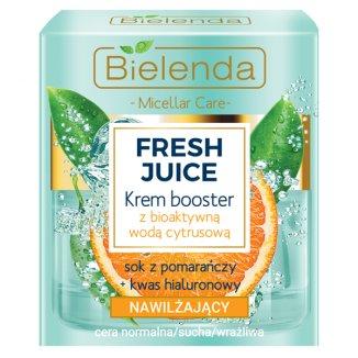 Bielenda Fresh Juice, krem booster nawilżający, z bioaktywną wodą cytrusową, 50 ml - zdjęcie produktu