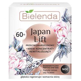 Bielenda Japan Lift 60 +, krem koncentrat rewitalizujący na noc, przeciwzmarszczkowy, 50 ml - zdjęcie produktu