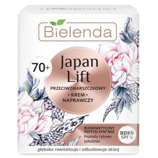 Bielenda Japan Lift 70 +, krem naprawczy na dzień, przeciwzmarszczkowy, 50 ml - zdjęcie produktu