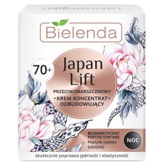Bielenda Japan Lift 70 +, krem koncentrat odbudowujący na noc, przeciwzmarszczkowy, 50 ml - zdjęcie produktu