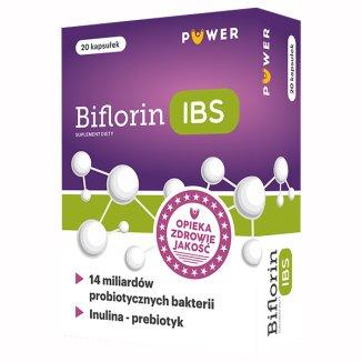 Biflorin IBS, 20 kapsułek - zdjęcie produktu