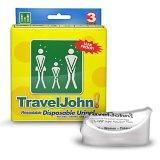 Travel John, przenośna toaleta wielokrotnego użytku, 3 sztuki - miniaturka zdjęcia produktu