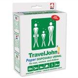 Travel John, przenośna toaleta, papierowa, jednorazowego użytku, 4 sztuki - miniaturka zdjęcia produktu