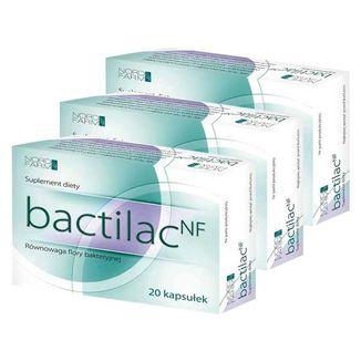 Bactilac NF, 3 x 20 kapsułek - zdjęcie produktu