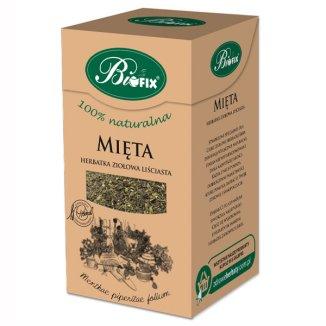 Bi Fix, Mięta herbatka ziołowa liściasta, 40 g - zdjęcie produktu