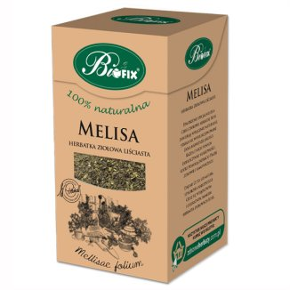 Bi Fix, Melisa herbatka ziołowa liściasta, 40 g - zdjęcie produktu