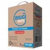 Mr. ZIGGI White, hipoalergiczny Proszek do prania, koncentrat, biel, 5 kg - miniaturka zdjęcia produktu