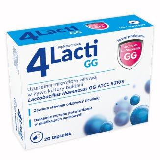 4 Lacti, 20 kapsułek - zdjęcie produktu