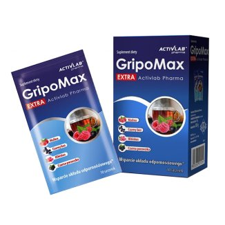 Activlab Pharma GripoMax Extra, 10 g x 10 saszetek - zdjęcie produktu