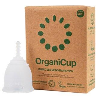 OrganiCup, kubeczek menstruacyjny, rozmiar mini, 1 sztuka - zdjęcie produktu