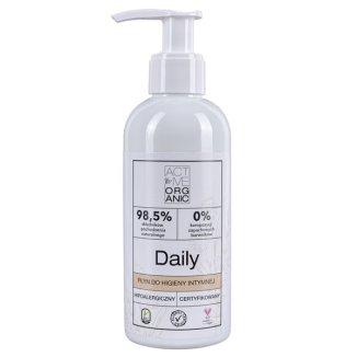 Active Organic, Daily, płyn do higieny intymnej z pompką, 200 ml - zdjęcie produktu