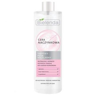 Bielenda Cera naczynkowa, płyn micelarny łagodzący, 500 ml - zdjęcie produktu