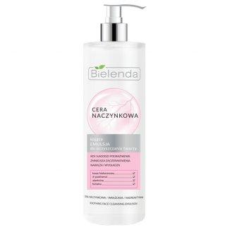 Bielenda Cera Naczynkowa, kojąca emulsja do oczyszczania twarzy, 190 ml - zdjęcie produktu