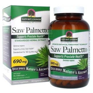 Nature's Answer Saw Palmetto, 120 kapsułek - zdjęcie produktu