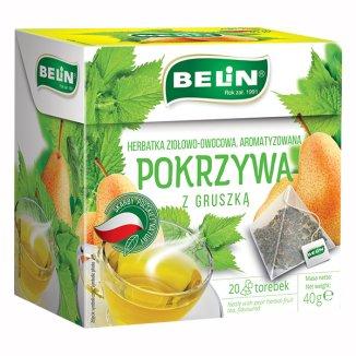Belin Pokrzywa z gruszką, herbatka ziołowo-owocowa, aromatyzowana, 2 g x 20 saszetek - zdjęcie produktu