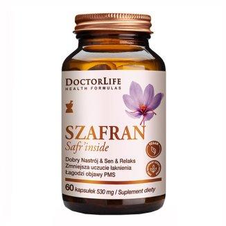 Doctor Life, Szafran, 60 kapsułek - zdjęcie produktu