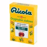 Ricola Oryginalne Ziołowe, szwajcarskie cukierki ziołowe, bez cukru, słodzone stewią, 27,5 g - miniaturka zdjęcia produktu