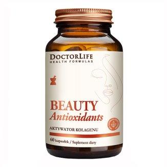 Doctor Life, Beauty antioxidants, Antyoksydanty urody, aktywator kolagenu, 60 kapsułek - zdjęcie produktu