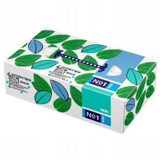 Bella No1, chusteczki higieniczne, uniwersalne o zapachu miętowym, 150 sztuk - zdjęcie produktu