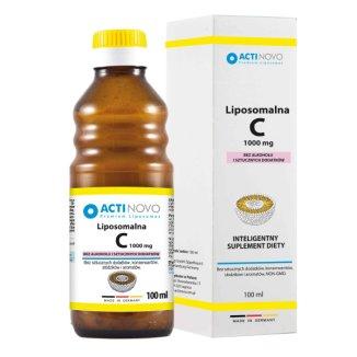 Actinovo, Liposomalna Witamina C, 1000 mg, bez alkoholu, 100 ml - zdjęcie produktu