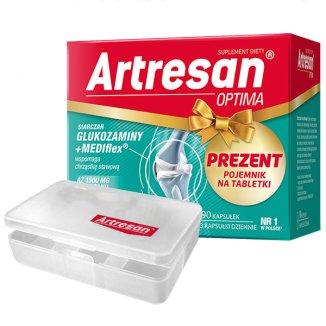 Artresan Optima, 90 kapsułek + pojemnik na tabletki w prezencie - zdjęcie produktu