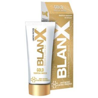 Blanx Pro Tropical Gold, pasta do zębów wybielająca, 75 ml - zdjęcie produktu