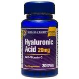 Holland & Barrett, kwas hialuronowy 20 mg z witaminą C, 30 kapsułek - miniaturka zdjęcia produktu