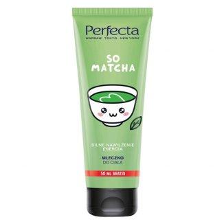 DAX Perfecta So Matcha, mleczko do ciała, silne nawilżenie, energia, 250 ml - zdjęcie produktu