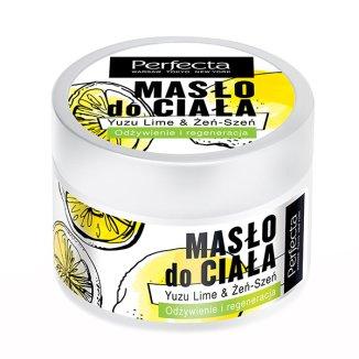 DAX Perfecta, masło do ciała, yuzu lime & żeń-szeń, odżywienie i regeneracja, 225 g - zdjęcie produktu