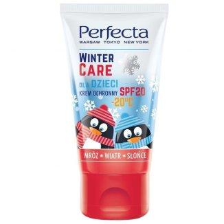 DAX Perfecta Winter Care, krem ochronny dla dzieci, mróz, wiatr, słońce, SPF20, 50 ml - zdjęcie produktu