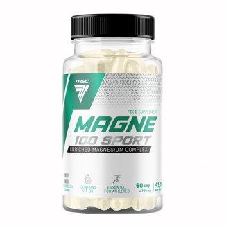 Trec, Magne 100 Sport, 60 kapsułek - zdjęcie produktu