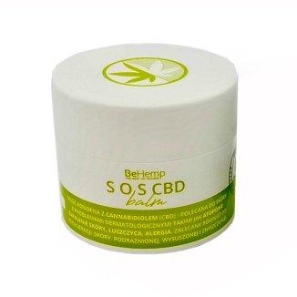 BeHemp SOS CBD, maść konopna z cannabidiolem, 50 ml - zdjęcie produktu