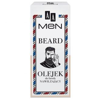 AA Men Beard, olejek do brody, nawilżający, 30 ml - zdjęcie produktu