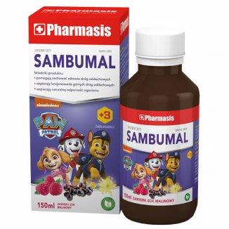 Pharmasis Sambumal, syrop dla dzieci powyżej 3 roku i dorosłych, 150 ml - zdjęcie produktu
