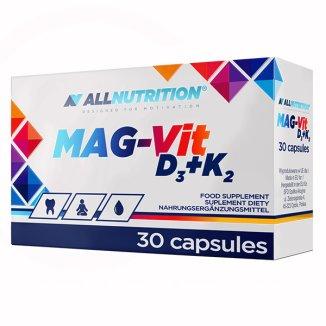 Allnutrition Mag-Vit D3 + K2, 30 kapsułek - zdjęcie produktu