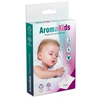 AromaKids, plastry do aromaterapii dla dzieci od 3 roku, 5 sztuk - zdjęcie produktu