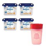 Zestaw Bebilon Profutura 4, mleko modyfikowane, po 2 roku, 4 x 800 g + dodatkowo kubek Skip-Hop, biedronka - miniaturka zdjęcia produktu