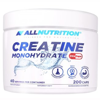 Allnutrition, Creatine Monohydrate, 200 kapsułek - zdjęcie produktu
