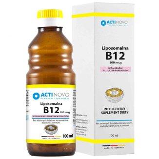 Actinovo, Liposomalna Witamina B12, 100 mcg, 100 ml - zdjęcie produktu