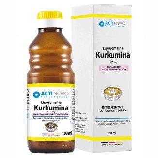Actinovo Liposomalna Kurkumina, 100 ml - zdjęcie produktu