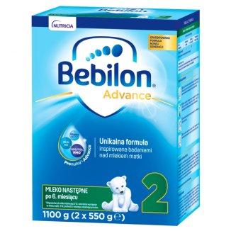 Bebilon Advance 2, mleko następne, po 6 miesiącu, 1100 g - zdjęcie produktu
