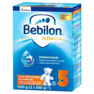 Bebilon Advance 5, mleko modyfikowane, dla przedszkolaka, 1100 g - zdjęcie produktu