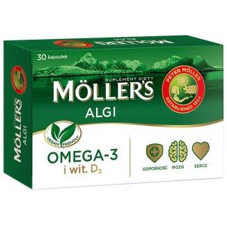 Moller's Algi, 30 kapsułek - zdjęcie produktu