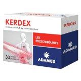 Kerdex 25 mg, 30 tabletek powlekanych - miniaturka zdjęcia produktu
