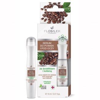 Flos-Lek Pharma, serum do powiek i pod oczy ze świetlikiem i kofeiną, 15 ml - zdjęcie produktu
