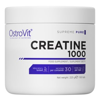 OstroVit, Creatine 1000, 150 tabletek - zdjęcie produktu