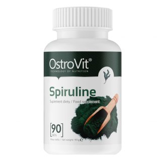 OstroVit, spirulina, 90 tabletek - zdjęcie produktu